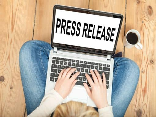 Press release copywriter