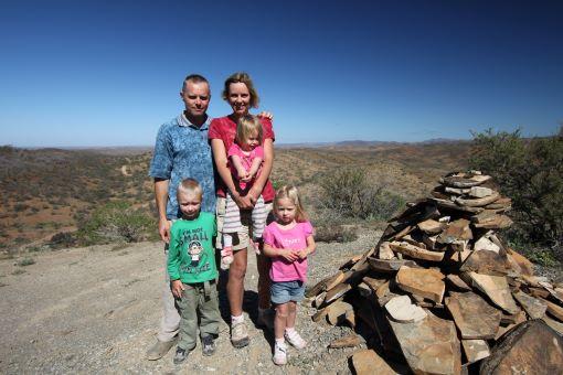 Family Travel Australia Arkaroola