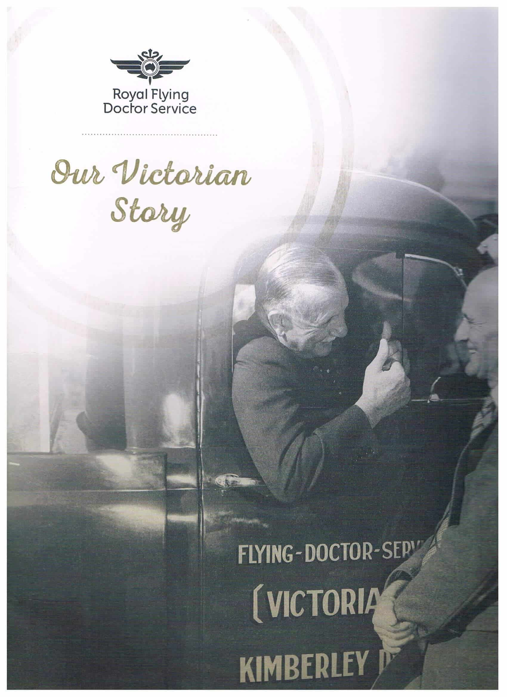 Royal Flying Doctor Service Our Victorian Story cover page