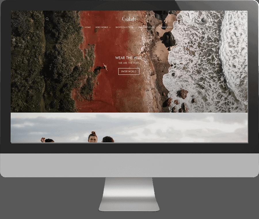 Galah SEO-friendly Website