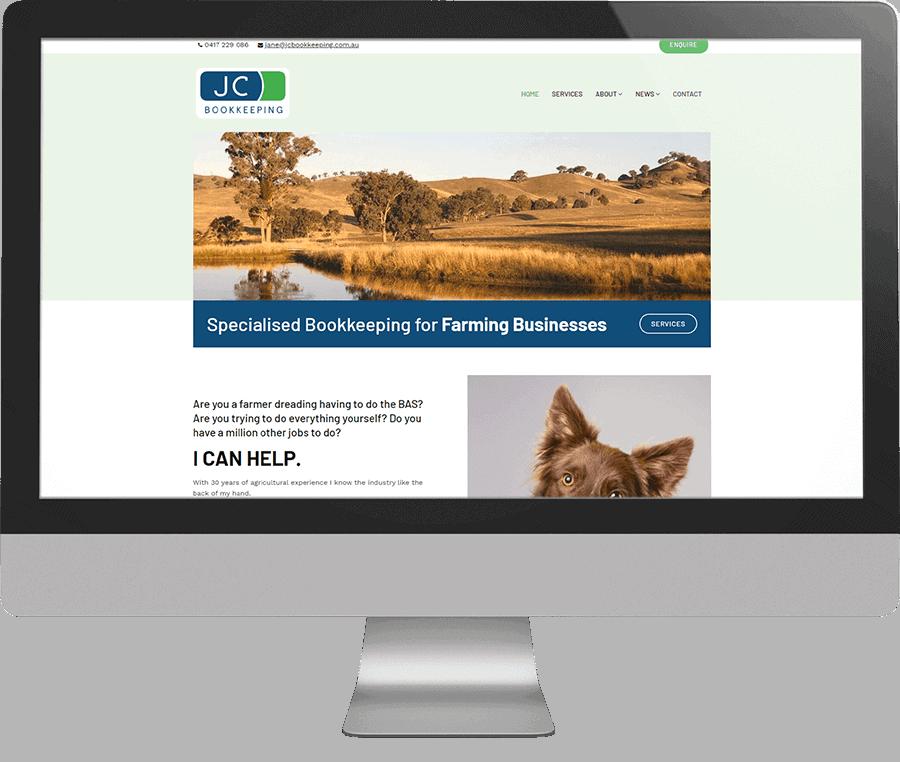 Jane Calcraft SEO-friendly Website