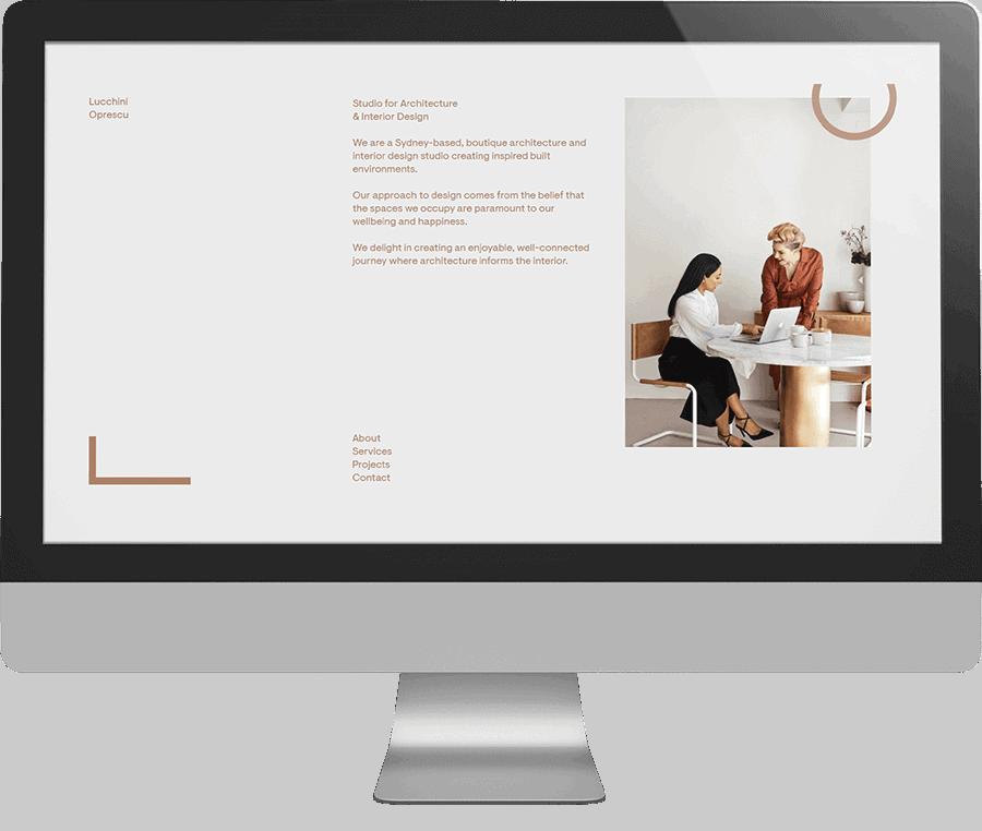 Lucchini Oprescu SEO-friendly Website