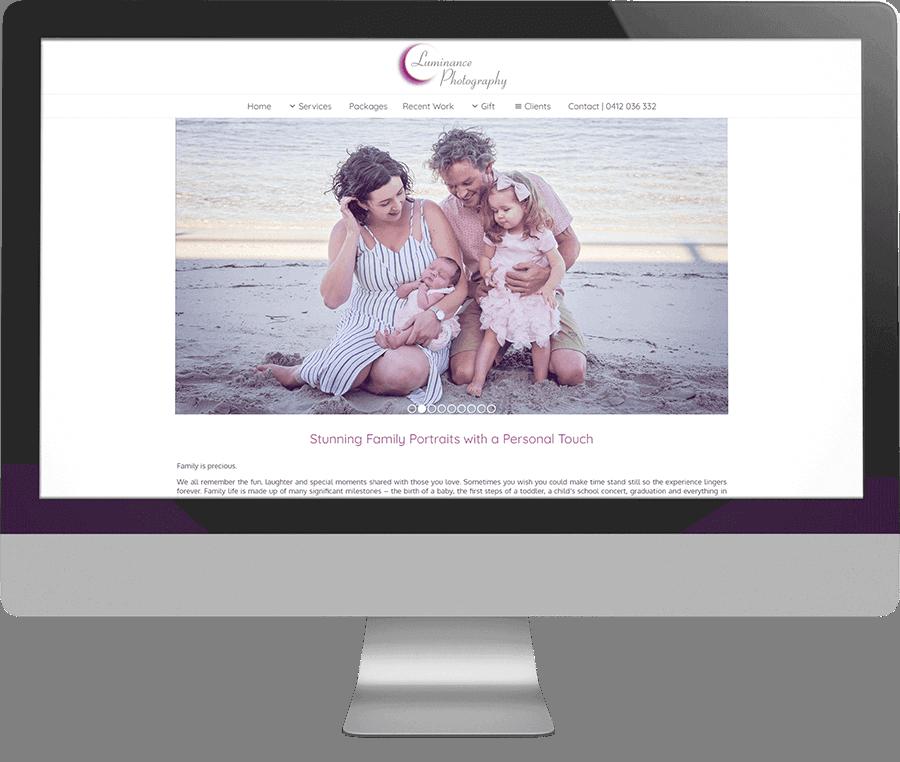 Luminance Photography SEO-friendly Website