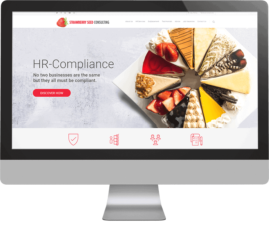 Strawberry Seed Consulting SEO-friendly website