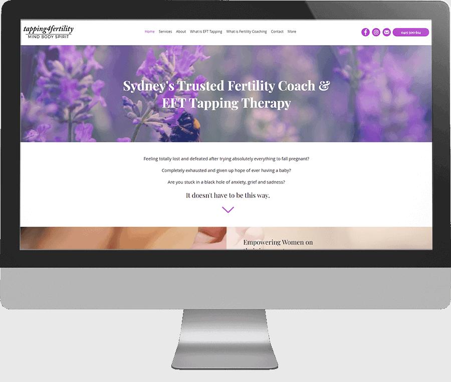 Tapping 4 Fertility SEO-friendly website