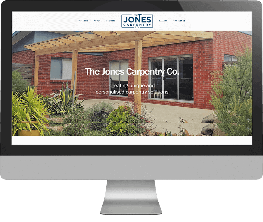 The Jones Carpentry Co SEO-friendly website